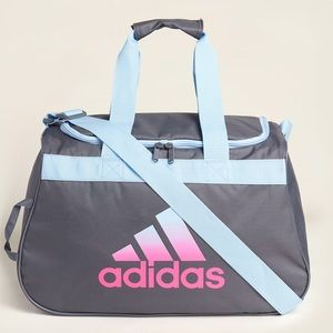 New Adidas Diablo Small Duffle Gym Bag- new color